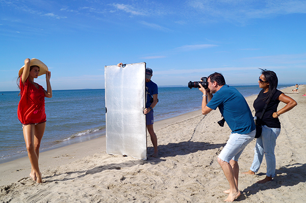 Shooting La Fiancée du Mekong - Making of Plage
